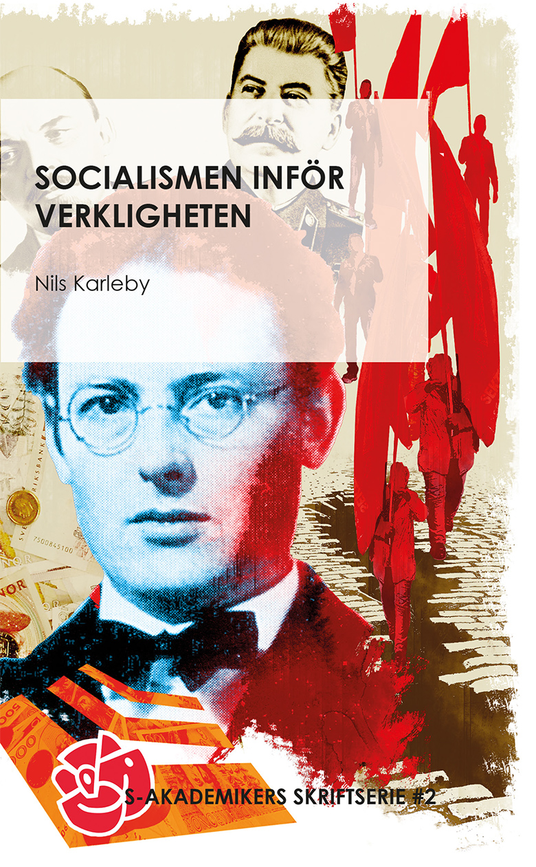 Omslag till boken Socialismen inför verkligheten av Nils Karleby