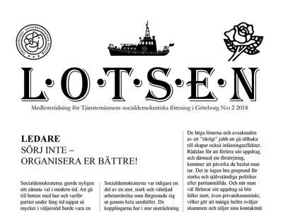 Nytt nummer av medlemsbladet Lotsen!