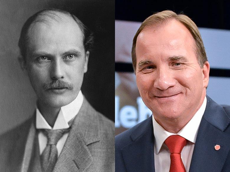 Rickard Sandler och Stefan Löfven