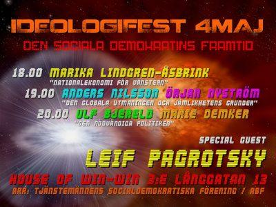 Ideologifest 4 maj 2011: Den sociala demokratins framtid