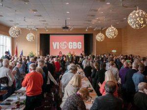 Distriktskongress för Socialdemokraterna i Göteborg